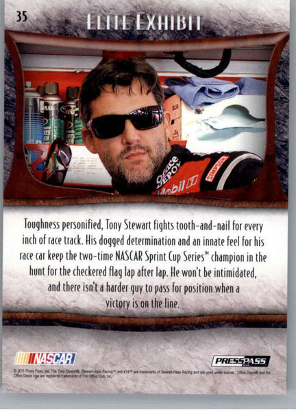 2011 Press Pass Showcase #35 Tony Stewart EE NM-MT+ ch