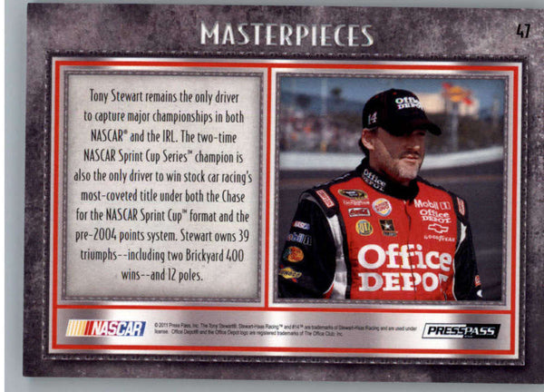 2011 Press Pass Showcase #47 Tony Stewart NM-MT+ ch