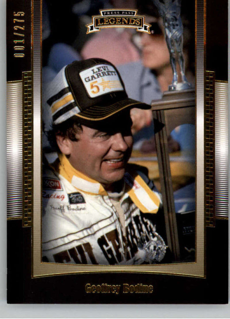2012 Press Pass Legends Gold #6 Geoff Bodine NM-MT+ ch /275