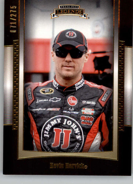 2012 Press Pass Legends Gold #43 Kevin Harvick NM-MT+ ch /275