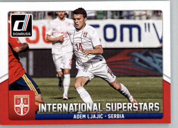 2015 Donruss International Superstars #53 Adem Ljajic MINT Serbia