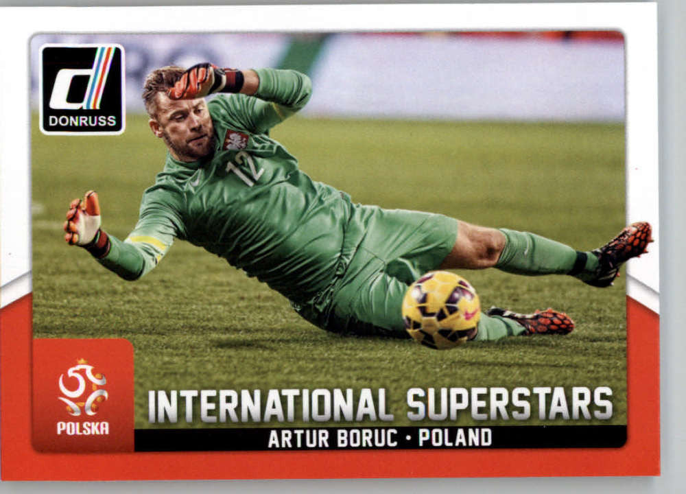 2015 Donruss International Superstars #55 Artur Boruc MINT Poland