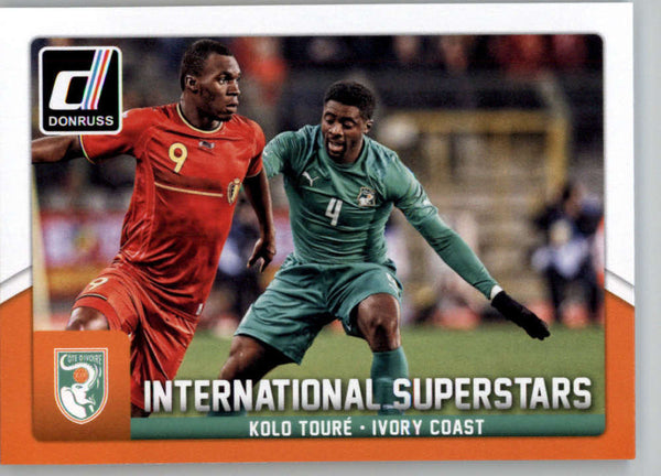 2015 Donruss International Superstars #73 Kolo Toure MINT Ivory Coast