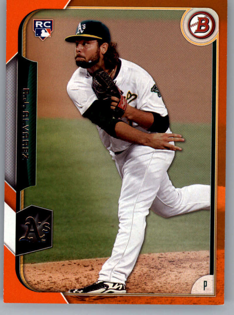 2015 Bowman Orange #136 R.J. Alvarez MINT b1 RC Rookie /25