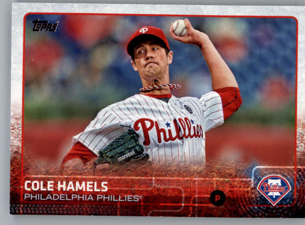 2015 Topps #10 Cole Hamels NM-MT+ CE
