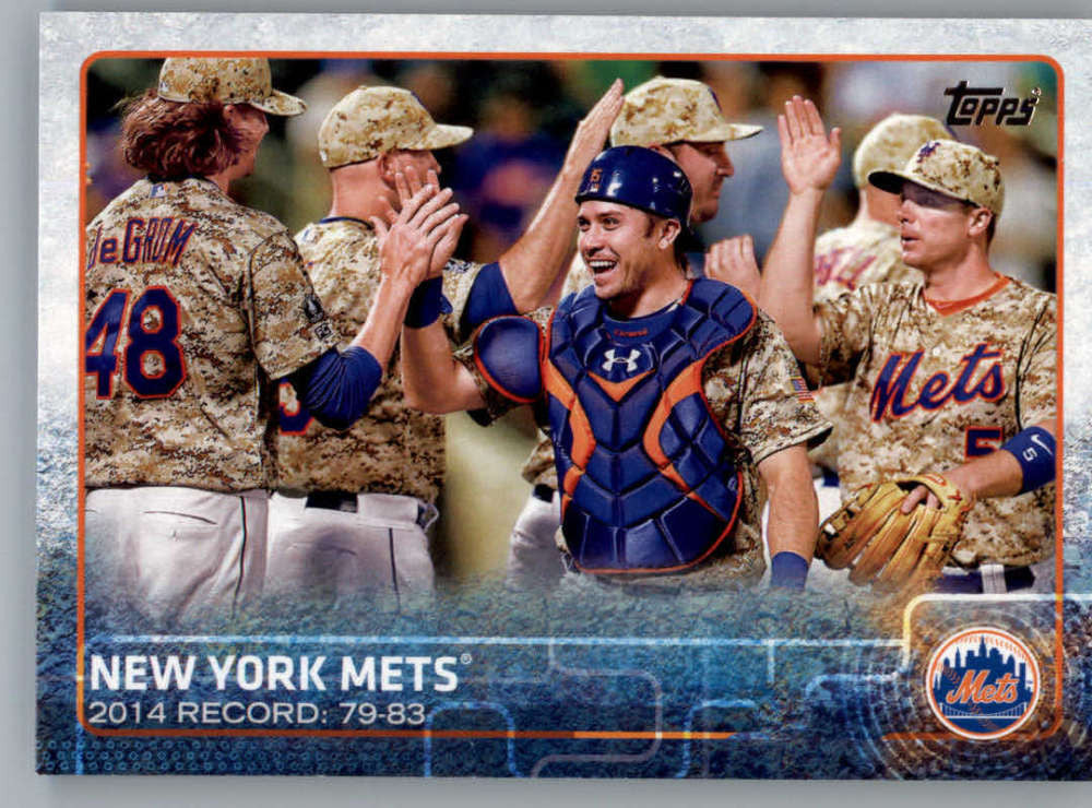2015 Topps #24 New York Mets NM-MT+ CE