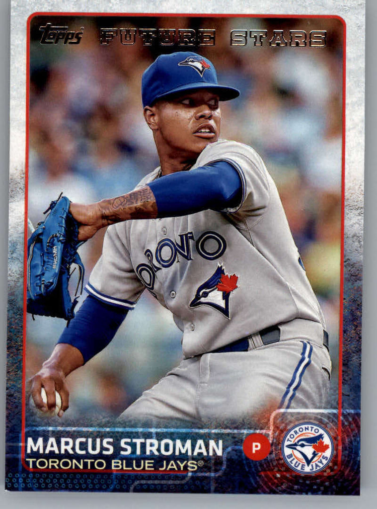 2015 Topps #90 Marcus Stroman Future Star NM-MT+ CE