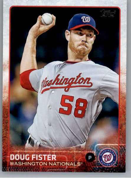 2015 Topps #109 Doug Fister NM-MT+ CE