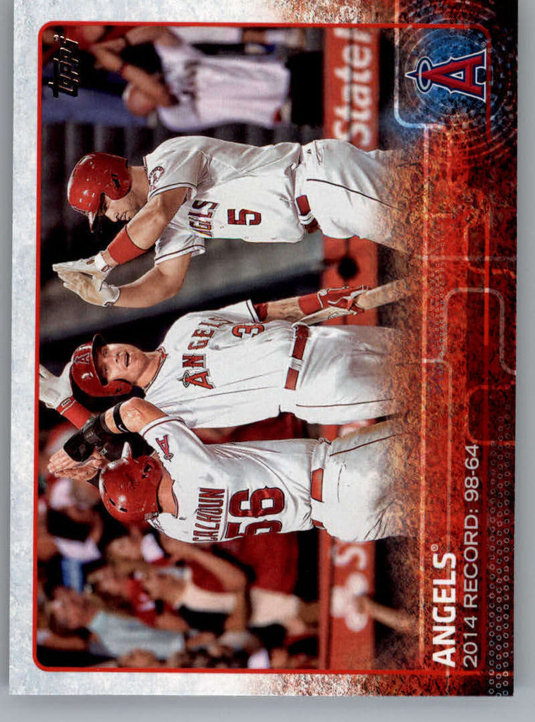 2015 Topps #223 Los Angeles Angels NM-MT+ CE