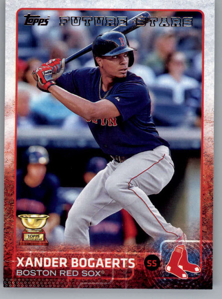 2015 Topps #327 Xander Bogaerts Future Star NM-MT+ CE