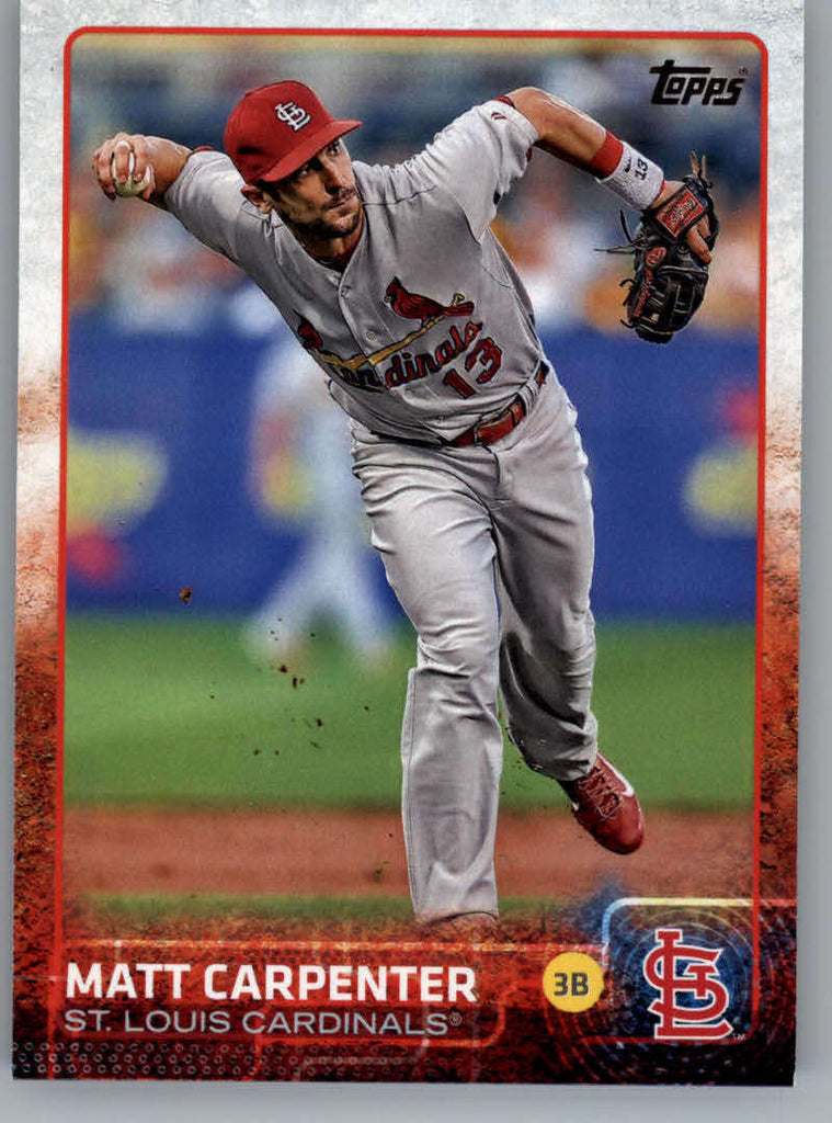 2015 Topps #336 Matt Carpenter NM-MT+ CE