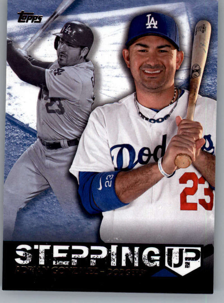 2015 Topps Stepping Up #SU-9 Adrian Gonzalez NM-MT+ CE