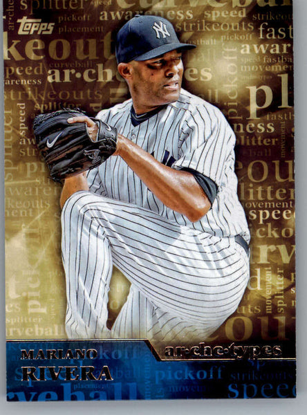 2015 Topps Archetypes #A-2 Mariano Rivera NM-MT+ CE