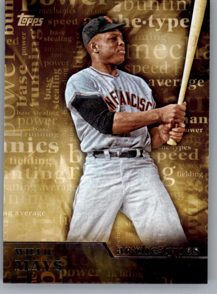 2015 Topps Archetypes #A-23 Willie Mays NM-MT+ CE
