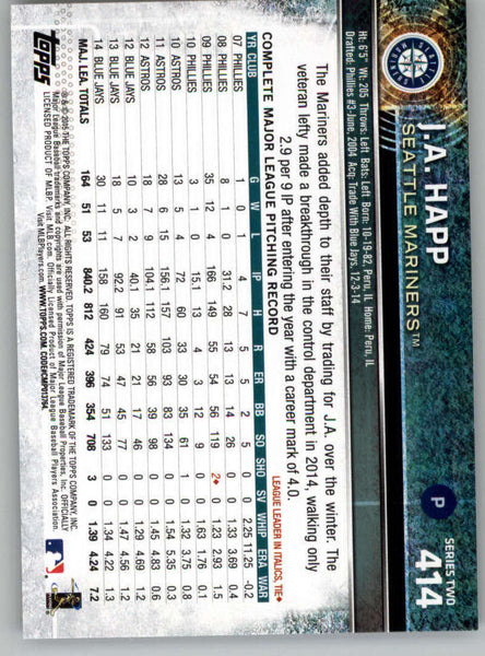 2015 Topps #412 Hector Rondon NM-MT+ CE