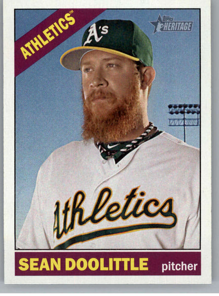 2015 Topps Heritage #36 Sean Doolittle NM-MT+ CE