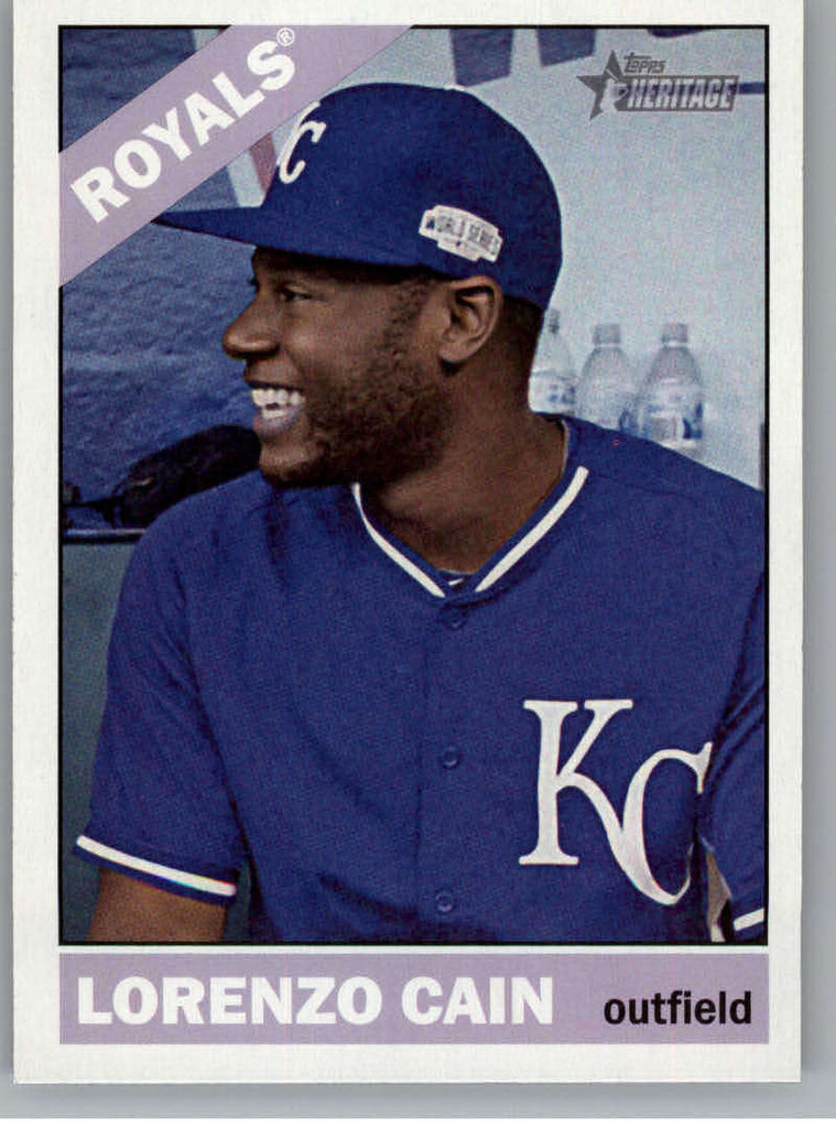 2015 Topps Heritage #54 Lorenzo Cain NM-MT+ CE
