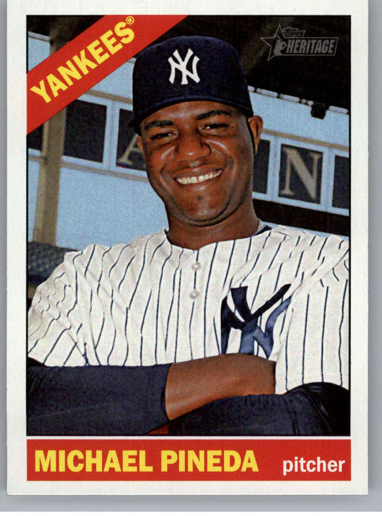 2015 Topps Heritage #160 Michael Pineda NM-MT+ CE