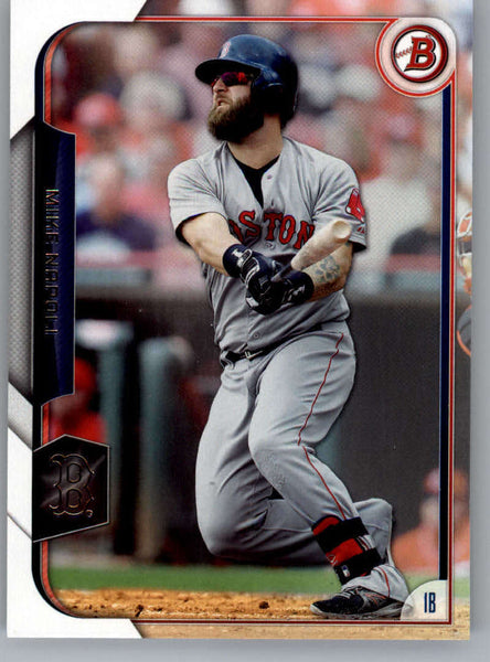 2015 Bowman #117 Mike Napoli NM-MT+ CE