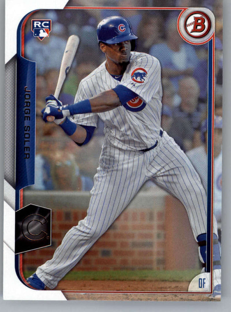 2015 Bowman #121 Jorge Soler NM-MT+ CE RC Rookie