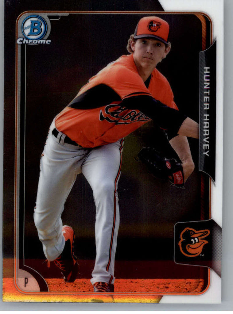 2015 Bowman Chrome Prospects #BCP26 Hunter Harvey NM-MT+ CE