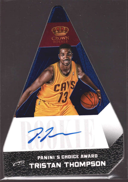 2012-13 Panini Preferred Panini's Choice Blue Rookies #548 Tristan Thompson NM-MT+ RC Rookie /49