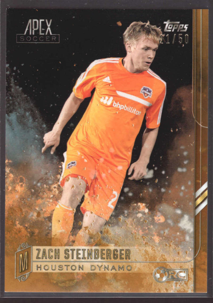 2015 Topps APEX MLS Gold #105 Zach Steinberger #d NM-MT