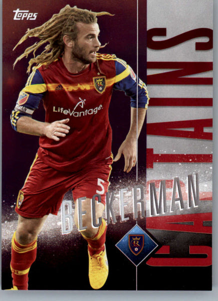 2015 Topps APEX MLS Captains #C-15 Kyle Beckerman NM-MT+