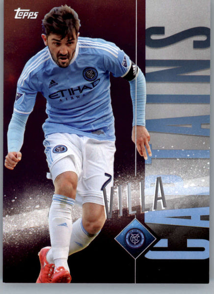 2015 Topps APEX MLS Captains #C-10 David Villa NM-MT+