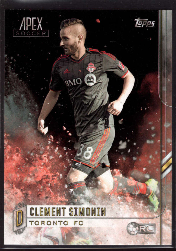 2015 Topps APEX MLS #106 Clement Simonin NM-MT+ SP