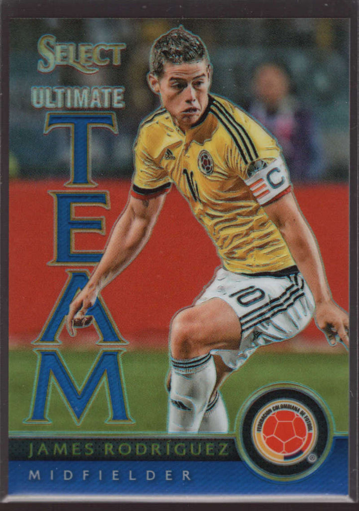 2015 Panini Select Ultimate Team Blue #12 James Rodriguez Mint /299