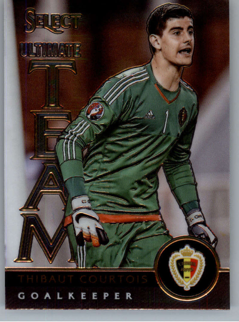 2015 Panini Select Ultimate Team #2 Thibaut Courtois NM-MT