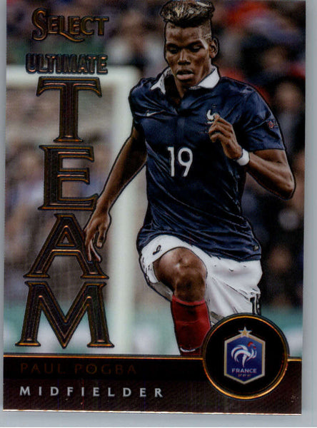 2015 Panini Select Ultimate Team #13 Paul Pogba NM-MT