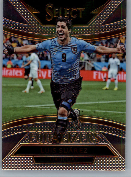 2015 Panini Select Equalizers #20 Luis Suarez NM-MT