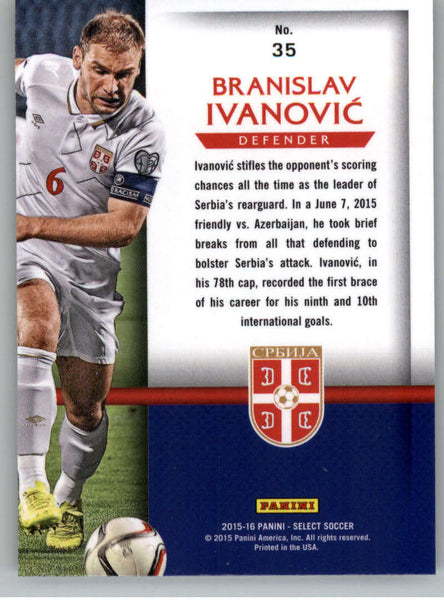 2015 Panini Select National Pride #35 Branislav Ivanovic NM-MT