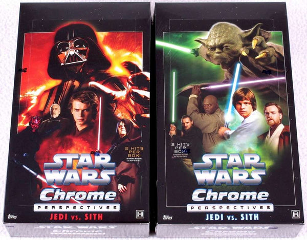 2015 Topps Star Wars Chrome Perspectives Sith Fugitives (Threat to the Republic) 10 Card Complete Insert Chase Set