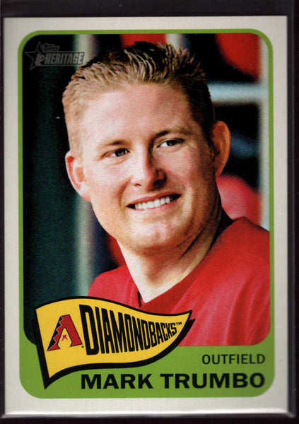 2014 Topps Heritage #442 Mark Trumbo Mint SP