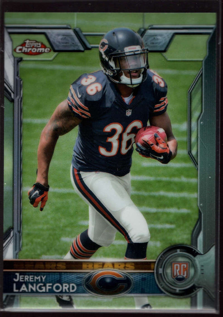 2015 Topps Chrome #142 Jeremy Langford Mint RC Rookie