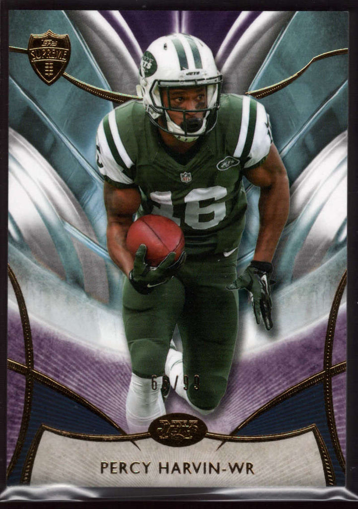 2014 Topps Supreme Violet #64 Percy Harvin Mint /99