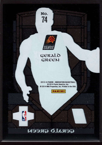 2013-14 Panini Innovation Stained Glass #74 Gerald Green Mint