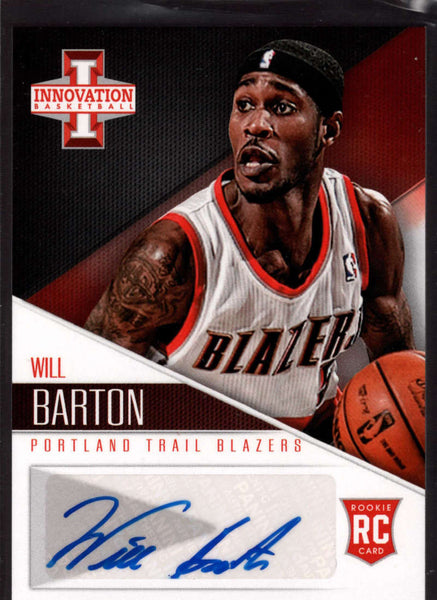 2012-13 Panini Innovation Rookie Autographs #11 Will Barton Mint RC Rookie Auto