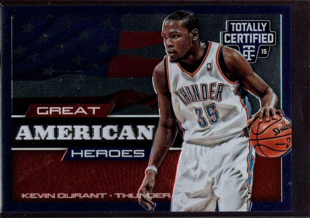 2014-15 Panini Totally Certified Great American Heroes #2 Kevin Durant Mint /299