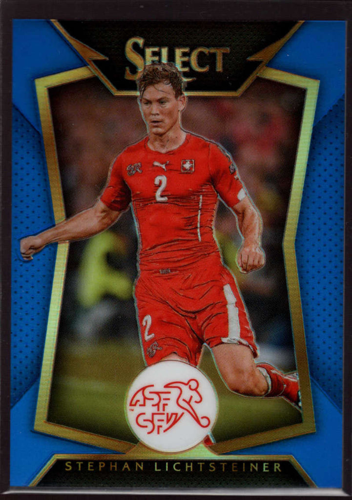 2015 Panini Select Variation Blue #59 Stephan Lichtsteiner Mint /299