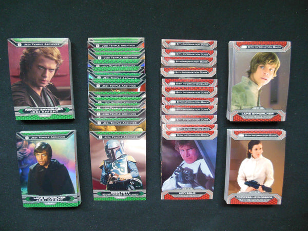 Star Wars 2015 Topps Chrome Jedi vs Sith Perspectives Complete Set #1-100