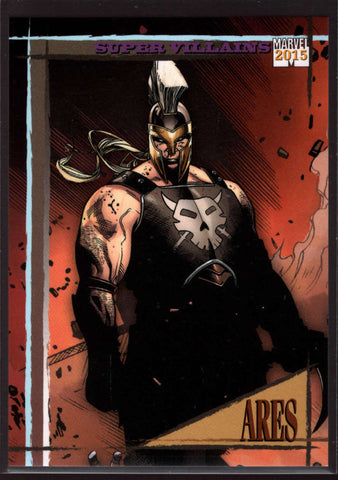 2015 Fleer Retro Marvel 1992 Skybox Marvel Universe #19 Ares Mint