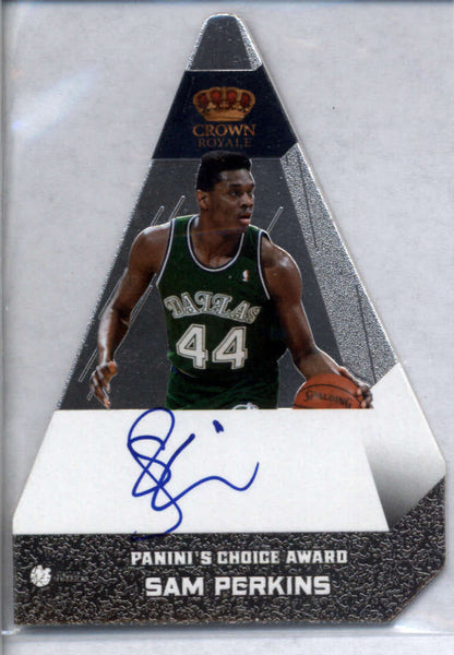 2012-13 Panini Preferred Panini's Choice Silver #86 Sam Perkins Mint /25