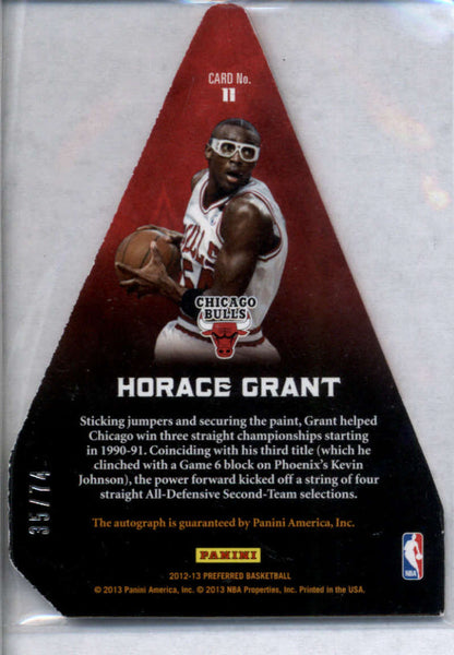 2012-13 Panini Preferred Panini's Choice Red #11 Horace Grant Mint /74