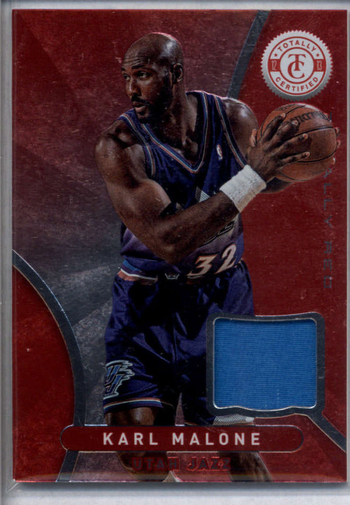 2012-13 Panini Totally Certified Red Memorabilia #28 Karl Malone Mint Jersey
