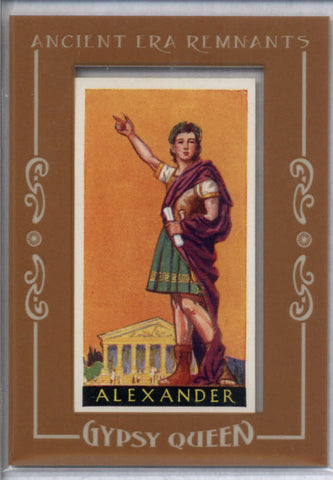 Alexander the Great Tobacco 2017 Gypsy Queen Ancient Era Remnants Buyback Famous