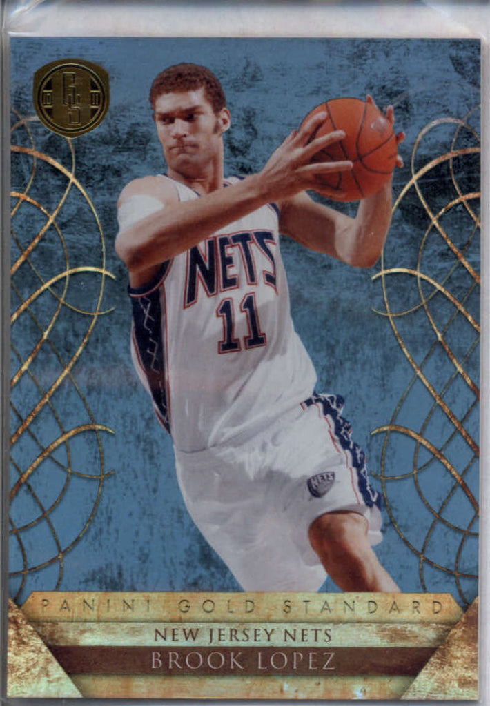 2010-11 Panini Gold Standard Platinum Gold #36 Brook Lopez Mint /25
